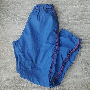 Boathouse Blue and red track pants. Size M.